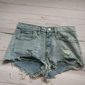 BDG denim shorts-26W